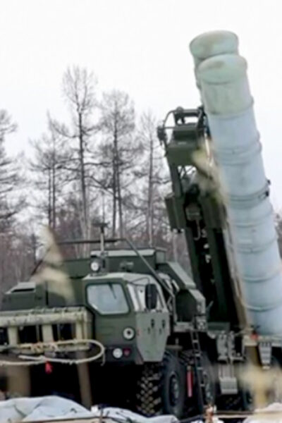 Combat Firing Of The S-400 Air Defense System At The Telemba Training Ground In Buryatia