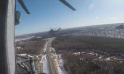 Russian Air Force Prepares For Victory Day Parade With Low-Altitude Stunts At Eye Watering Speeds