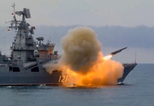"""Russian Fleet Shoot Missile System """"Basalt"""" In The Black Sea For The First Time In Recent History"""