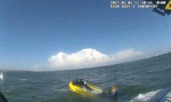 Moment HCSO Marine Unit Deputies Rescue Two Jet Skiers