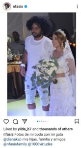 Read more about the article Dominican Singer Slammed For Getting Married In Ripped Shorts And T Shirt
