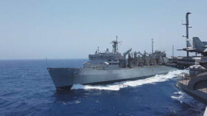 US Aircraft Carrier Strike Group Provides Support For Troop Withdrawal From Afghanistan As Tensions With Taliban Rise