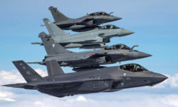 USA And UK Fighter Jets Take Part In Massive Week Long Exercise In France To Improve Working Together