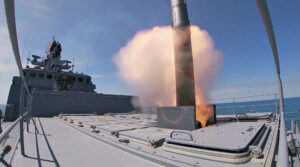 Russian Military Clears Area Of The Sea So Live Missiles Can Be Fired At Target Ship
