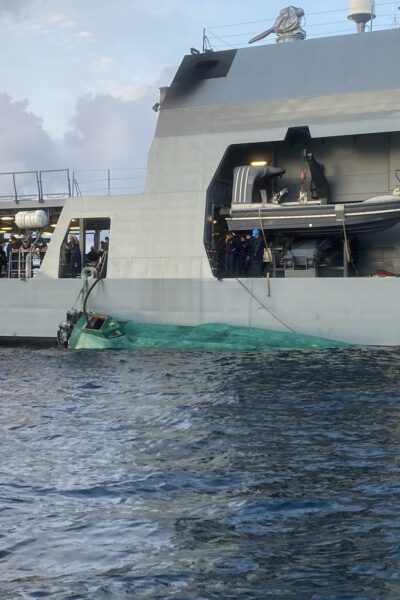 Colombian Navy Seizes Narco Sub And Speedboat With Almost 2 Tonnes Of Drugs