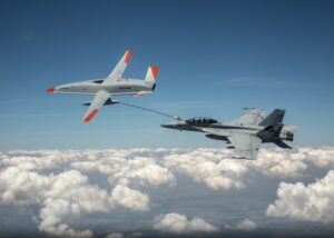 Boeing MQ 25 Drone Conducts Worlds First Unmanned Aerial Refuelling With US Fighter Jet