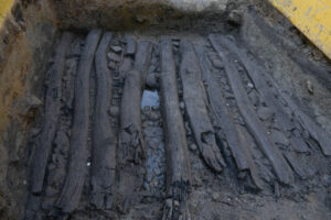 Archaeologists Discover 2,000 Year Old Shoe On Late Bronze Age Wooden Path In Germany