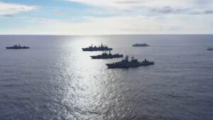 Russian Navy Carries Out War Games In Pacific On Same Day Kremlin Intercepts US Spy Plane