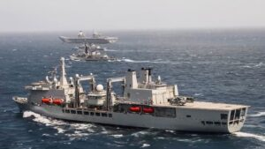 Read more about the article Royal Navy Unleashes HMS Queen Elizabeth During War Games With Indian Navy