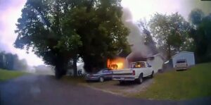 Read more about the article Columbia Police Officer Rescues Disabled Woman From Burning Flames