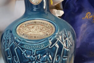 Rare Wines And Spirits Found At Greek Royal Palace Including Chivas In Honour Of British Queen