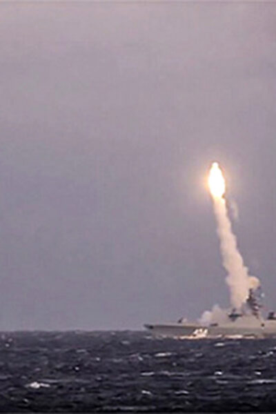 Russia Flexes Military Muscles With New Hypersonic Cruise Missile Thats Five Times Faster Than Speed Of Sound