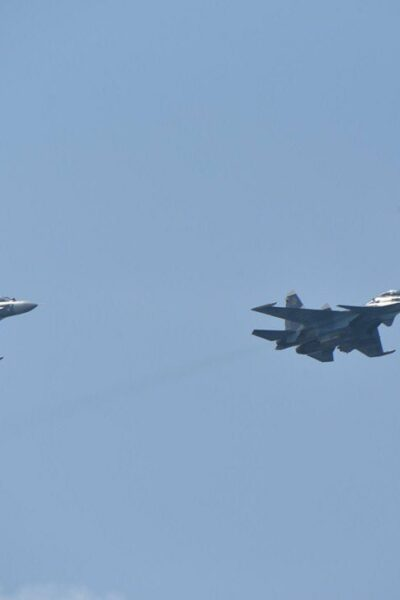 Russia Raised Two Fighter Jets Because Of NATO Violation Of The Border (OYT)